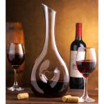 Heart shape decanter + glasses set